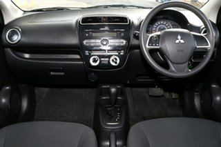 2015 Mitsubishi Mirage LA MY15 ES White 1 Speed Constant Variable Sedan