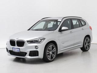2018 BMW X1 F48 MY18 xDrive 25i M Sport Silver 8 Speed Automatic Wagon.
