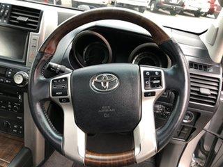2010 Toyota Landcruiser Prado KDJ150R Kakadu Silver Pearl 5 Speed Sports Automatic Wagon