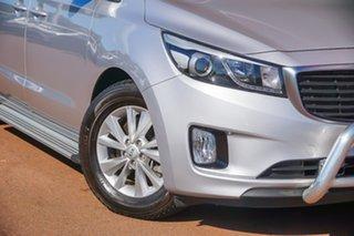 2015 Kia Carnival YP MY15 SI Silver 6 Speed Sports Automatic Wagon.