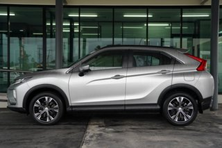 2019 Mitsubishi Eclipse Cross YA MY19 ES 2WD Sterling Silver 8 Speed Constant Variable Wagon