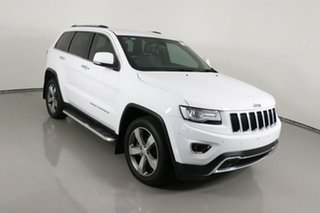 2015 Jeep Grand Cherokee WK MY15 Limited (4x4) White 8 Speed Automatic Wagon