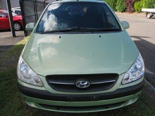 2010 Hyundai Getz TB MY09 SX Green 4 Speed Automatic Hatchback.