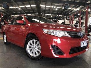 2014 Toyota Camry AVV50R Hybrid H Wildfire 1 Speed Constant Variable Sedan Hybrid.