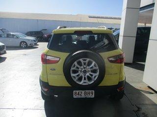2013 Ford Ecosport BK Titanium 1.5 Yellow 6 Speed Direct Shift Wagon.