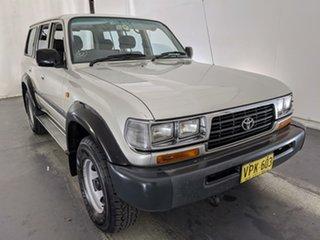 1995 Toyota Landcruiser FZJ80R GXL Gold 4 Speed Automatic Wagon.