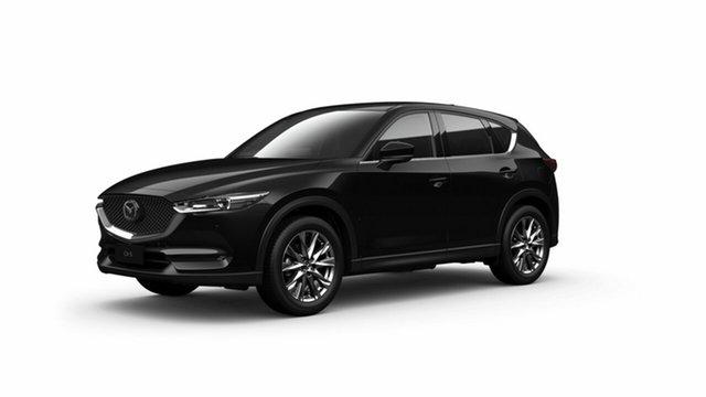 New Mazda CX-5 KF4WLA Akera SKYACTIV-Drive i-ACTIV AWD Toowoomba, 2021 Mazda CX-5 KF4WLA Akera SKYACTIV-Drive i-ACTIV AWD Jet Black 6 Speed Sports Automatic Wagon
