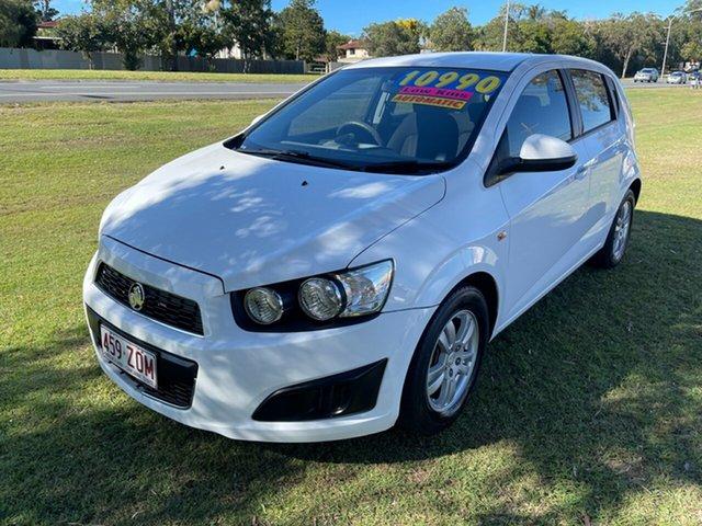 Used Holden Barina TM MY13 CD Clontarf, 2013 Holden Barina TM MY13 CD White 6 Speed Automatic Hatchback