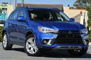2019 Mitsubishi ASX XC MY19 ES 2WD ADAS Blue 1 Speed Constant Variable Wagon.