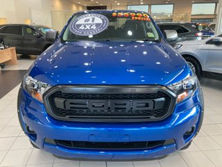 2021 Ford Ranger PX MkIII XLS Blue Lightning 6 Speed Automatic.