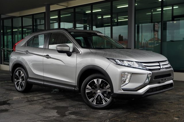 Used Mitsubishi Eclipse Cross YA MY19 ES 2WD Cairns, 2019 Mitsubishi Eclipse Cross YA MY19 ES 2WD Sterling Silver 8 Speed Constant Variable Wagon