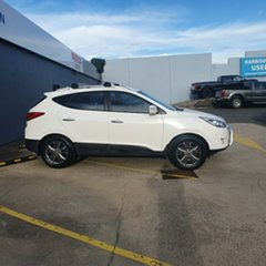 2013 Hyundai ix35 LM3 Elite White 6 Speed Sports Automatic Wagon.