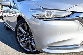 2018 Mazda 6 GL1032 Atenza SKYACTIV-Drive Silver 6 Speed Sports Automatic Wagon.