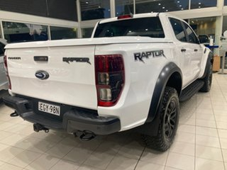 2020 Ford Ranger PX MkIII Raptor Arctic White 10 Speed Automatic