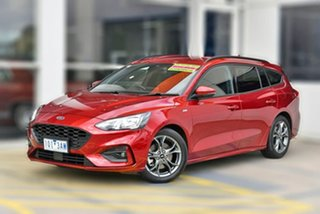 2019 Ford Focus SA 2019.75MY ST-Line Red 8 Speed Automatic Wagon.
