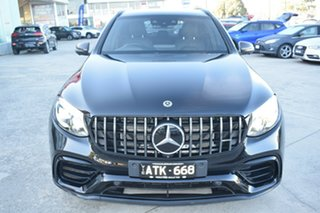 2018 Mercedes-Benz GLC-Class C253 809MY GLC63 AMG Coupe SPEEDSHIFT MCT 4MATIC+ S Black 9 Speed.