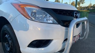 2013 Mazda BT-50 XT (4x2) White 6 Speed Manual Cab Chassis