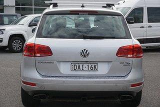 2014 Volkswagen Touareg 7P MY15 150TDI Tiptronic 4MOTION Reflex Silver 8 Speed Sports Automatic