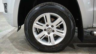2015 Volkswagen Amarok 2H MY16 TDI420 4Motion Perm Highline Silver 8 Speed Automatic Utility