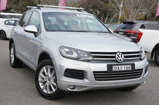 2014 Volkswagen Touareg 7P MY15 150TDI Tiptronic 4MOTION Reflex Silver 8 Speed Sports Automatic.