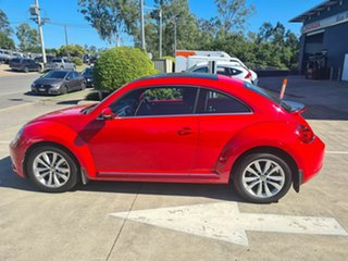 2013 Volkswagen Beetle 1L MY13 Coupe DSG Red 7 Speed Sports Automatic Dual Clutch Liftback