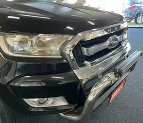 2016 Ford Ranger PX MkII XLT Double Cab Black 6 Speed Sports Automatic Utility