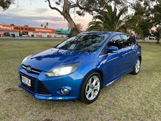 2012 Ford Focus LW MkII Sport Blue 5 Speed Manual Hatchback.