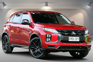 2020 Mitsubishi ASX XD MY20 MR 2WD Red 1 Speed Constant Variable Wagon.