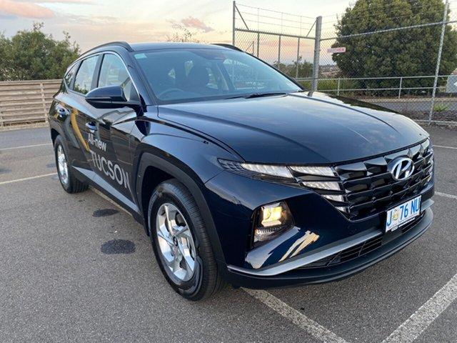 Demo Hyundai Tucson NX4.V1 MY22 2WD Devonport, 2021 Hyundai Tucson NX4.V1 MY22 2WD Deep Sea Blue 6 Speed Automatic Wagon