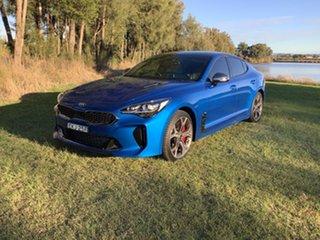 2019 Kia Stinger CK MY20 GT Fastback Night Sky Edition Blue 8 Speed Sports Automatic Sedan.