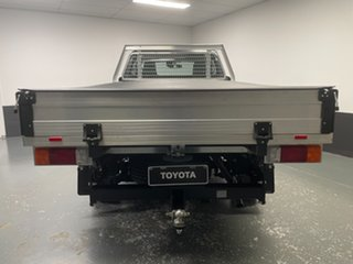 2020 Toyota Hilux TGN121R Workmate 4x2 Grey 6 Speed Sports Automatic Cab Chassis