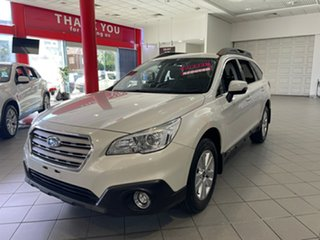 2016 Subaru Outback B6A MY17 2.0D CVT AWD White 7 Speed Constant Variable Wagon.