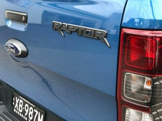 2021 Ford Ranger PX MkIII 2021.25MY Raptor Performance Blue 10 Speed Sports Automatic