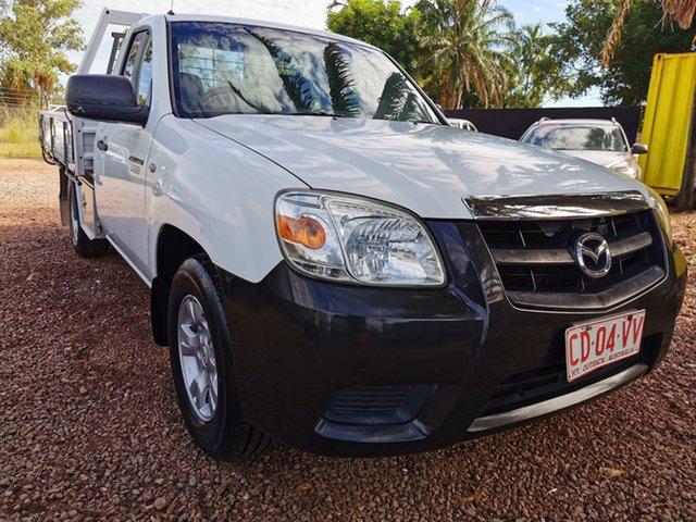 Used Mazda BT-50 UNY0W4 DX 4x2 Pinelands, 2010 Mazda BT-50 UNY0W4 DX 4x2 White 5 Speed Manual Cab Chassis