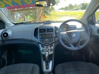2013 Holden Barina TM MY13 CD White 6 Speed Automatic Hatchback