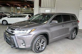 2017 Toyota Kluger GSU55R GX AWD Grey 8 Speed Sports Automatic Wagon