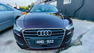 2014 Audi A3 8V MY15 Attraction Sportback S Tronic Maroon 7 Speed Sports Automatic Dual Clutch.