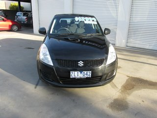 2012 Suzuki Swift FZ Sport Black 7 Speed Constant Variable Hatchback.