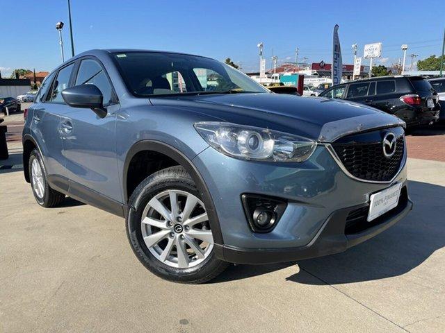 Used Mazda CX-5 MY13 Upgrade Maxx Sport (4x4) Victoria Park, 2013 Mazda CX-5 MY13 Upgrade Maxx Sport (4x4) Blue 6 Speed Automatic Wagon