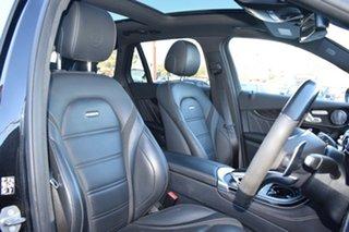 2018 Mercedes-Benz GLC-Class C253 809MY GLC63 AMG Coupe SPEEDSHIFT MCT 4MATIC+ S Black 9 Speed