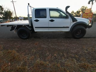 2006 Holden Rodeo RA MY06 LX Crew Cab White 5 Speed Manual Cab Chassis