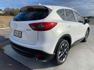 2016 Mazda CX-5 KE1022 Akera SKYACTIV-Drive AWD White 6 Speed Sports Automatic Wagon