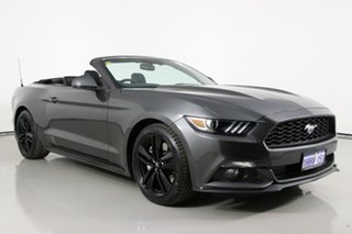 2017 Ford Mustang FM MY17 2.3 GTDi Grey 6 Speed Automatic Convertible.