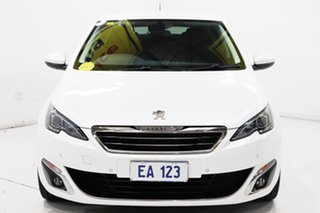 2015 Peugeot 308 T9 Allure White 6 Speed Sports Automatic Hatchback.