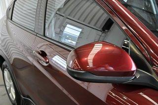 2016 Honda HR-V MY16 VTi Red 1 Speed Constant Variable Hatchback.