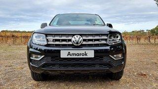 2020 Volkswagen Amarok 2H MY21 TDI580 4MOTION Perm Highline Deep Black Pearl Effect 8 Speed.