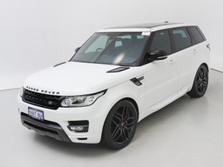 2014 Land Rover Range Rover LW Sport SDV8 HSE Dynamic White 8 Speed Automatic Wagon
