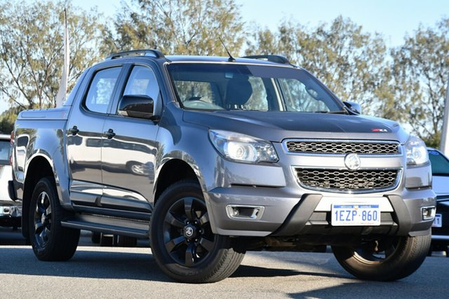 Used Holden Colorado RG MY16 Z71 Crew Cab Clarkson, 2015 Holden Colorado RG MY16 Z71 Crew Cab Grey 6 Speed Sports Automatic Utility
