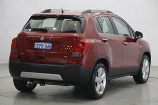 2014 Holden Trax TJ MY15 LTZ Red 6 Speed Automatic Wagon
