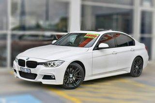 2013 BMW 3 Series F30 MY0813 328i M Sport White 8 Speed Sports Automatic Sedan.